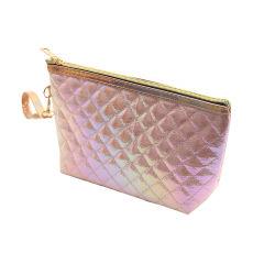 Оптовая торговля дешевые основную часть девочек поездки индивидуальные печать Cute PU небольшой косметический макияжа чехол сумка с ручкой