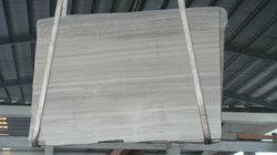 Lastra/mattonelle di marmo di legno bianche della Cina