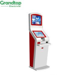 Depósito de dinheiro e retirar o banco sem fios quiosque de ATM