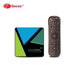 G5 Android Market Caixa TV RK3318 Android Market 10 Caixa de TV com núcleo quádruplo 2.4G WiFi Set Top Box a Netflix Media Player Max