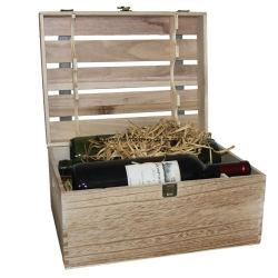 سعر تنافسي عالي الجودة OEM Vintage Wine Box