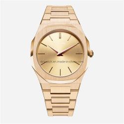 La moda Logotipo personalizado Ap marca de lujo minimalista de oro regalo de promoción automática de cuarzo Relojes de Pulsera Hombres Mujeres OEM