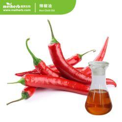 Gfl Manufactuce (orignal marque) liquide rouge foncé 100% Pure huile essentielle d'huile de piment à chaud