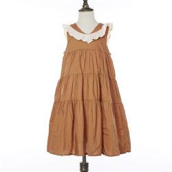 Heiße weiche Baumwolle der Verkaufs-Spitze-Stutzen-Mädchen-Prinzessin-Dress Fashion Girls Dress