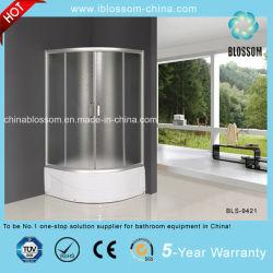 熱い販売の純粋なガラス東ヨーロッパの閉鎖シャワー室(BLS-9421)