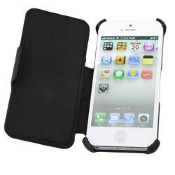 حقيبة محمول من الجلد بنمط القلب من PU لـ iPhone5