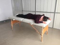 Lit en bois multifonctionnelle Tattoo Président Président de la beauté des ongles de pliage Table de massage SPA Meubles