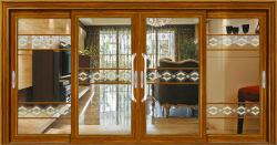 China doble vidrio interior insonorizadas Lowes Interior puertas correderas de cristal