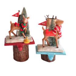 Современное Рождество пластика скульптура оленя фигурка статуи для интерьера