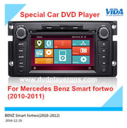 Видео-плеер Автомобиля DVD Автопарк для Мерседес Бенц Smart Fortwo (2010-2011)