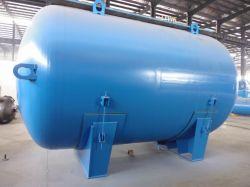 Réservoir de stockage doublée de verre/de stockage de liquides chimiques