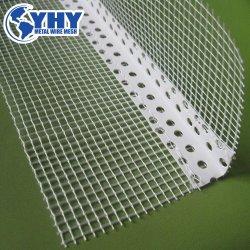 Ángulo de PVC Malla Eifs mosaico Cordón Cordón de la esquina de enlucido de yeso