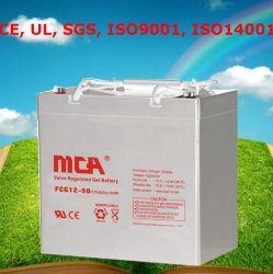 Cavo Crystal Battery Gel Battery Lighting Battery 12V50ah