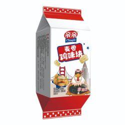 Qinqin пшеницы вкус взломщик оптовой упаковке детей закуска Non-Fried Продовольственной