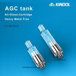 CBD Cartridge Groothandel Mini E sigaret geheel glazen CBD tank 510 Cartomizer voor eenmalig gebruik