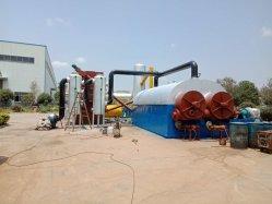 Plastica residua continua alla pianta di riciclaggio di olio combustibile di pirolisi dell'ABS