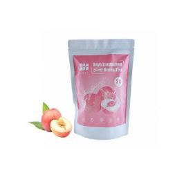 Etiqueta Privada a perda de peso 28dia chá de desintoxicação de emagrecimento de ervas naturais com sabor de pêssego