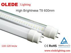 Superschlauch der helligkeits-T8 LED beleuchtet 10 Watt 600mm 3 Jahre das bescheinigte Garantie TUV-CER