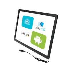 Cjtouch 23,8 pouces écran tactile Multi infrarouge IR Overlay