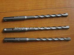 SDS-Plus Broca martillo de cabeza plana con Acabado arenado
