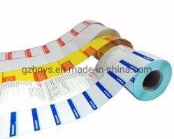 Douane om Druk die van de Etiketten van het Document van de Sticker van het Embleem de Zelfklevende Vinyl wordt afgedrukt