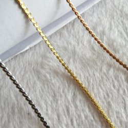 Pendant Earring Fashion Design Gold Plated Jewelry를 위한 스테인리스 Steel Necklace S Chain