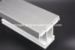 Zhongde Qualität UPVC/PVC erstellt metallisches Puder mit heller Oberfläche ein Profil