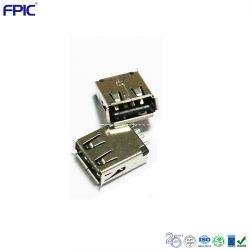لوحة PCB لوحة المكون كبل الهاتف المحمول مجموعة الشاحن الجانب العلوي موصلات USB 2.0 الإلكترونية في جانب الإدخال