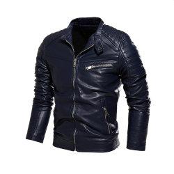 Высокое качество мужчин осенью и зимой мужчин слой кожи куртка мотоцикл Китая поставщика