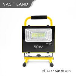 Портативный аккумулятор в чрезвычайных ситуациях работы 50W Светодиодный прожектор