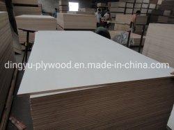 Muebles blancos de alta calidad para muebles de madera de álamo de la blanqueada
