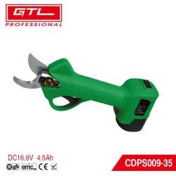 業務用コードレス電動プルーニングシャー、 2 個の pcs 4.5ah 充電式リチウム電池式ツリーブランチプルナー、 30mm 切削直径