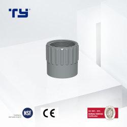 Hoher Qualitycpvc Belüftung-industrielles System LÄRM StandardPn20-Pn16 passender weiblicher Plastikhochdruckadapter ASTM StandardSch80
