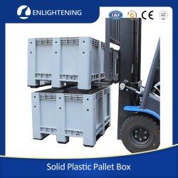 HPE ذات الجدران الصلبة غير المعطرة والمتينة للخدمة الشاقة رزم البلاستيك الصناعي القابل للتكديس للفيش / البطارية / قطع غيار السيارات
