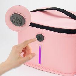 Caixa de esterilização UV LED Nail Nipper Esterilizador Pinça Cuidados Pessoais Gabinete Lavadoras Desinfectadoras ultravioleta para manicuros e saco de filtro