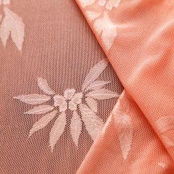 Guter Ausdehnungs-Jacquardwebstuhlnylonspandex-elastisches Spitze-Gewebe für Wäsche