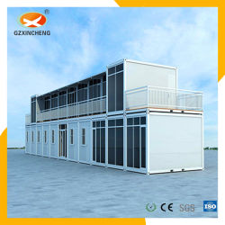 Estructura de acero popular sala de juntas de cemento en lugar de habitación
