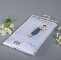 Kleidender täglicher Notwendigkeits-Supermarkt-Haken-verpackenbeutel Belüftung-fördernder Beutel-Zoll
