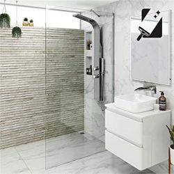 Gabinetes de chuveiro prefabricados e cabina de duche de vidro