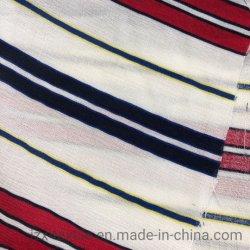빨 수 있는 나일론 면에 의하여 인쇄되는 포플린 직물 줄무늬 패턴