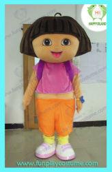 Dora the Explorer Mascot personnage de dessin animé de costumes taille adulte