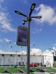 Hot Sale CCTV 6m 8m 10m 12m de la lampe de plein air en acier galvanisé Post Rue lumière LED conique sur mesure Pole Pole Smart lampe