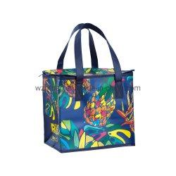 New Trend Non Woven Bag Factory Custom Eco Friendly Bag Waterdichte Thermal niet geweven geïsoleerde kruidenier herbruikbare ijstas Winkelen Tas voor de lunchkoeler