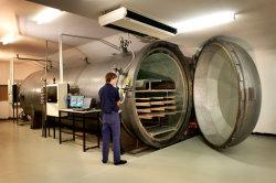 depósito de presión de la madera la máquina de vacío Tratamiento de la madera de la impregnación Autoclave (SN-MGF-2200-12500)