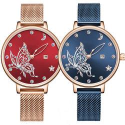Moda de fábrica personalizada de novo Fashion Barato Senhora relógio de pulso para Mulheres