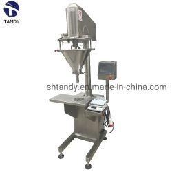 El tornillo de polvo de medición industrial semiautomática Máquina de Llenado