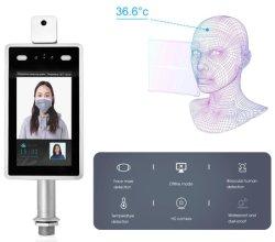 Gesichtskamera-entdecken thermische Überwachungskamera-Karosserien-Temperatur der anerkennungs-7inch Zugriffssteuerung-aufrechten Halter