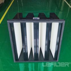 O Ar de Entrada da Turbina a gás filtros V Filtro Bankd Compacto