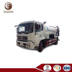 De Zuiging van het Riool van Kingrun van Dongfeng 12m3 en de Schoonmakende Vrachtwagen van het Uitwerpen van het Water voor Verkoop