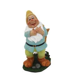 Artigianato in resina regalo Natale decorazione Midget flowerpot Dwarf Statua Fairy Giardino Casa ornamento